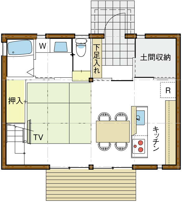 リフィル案01平面図