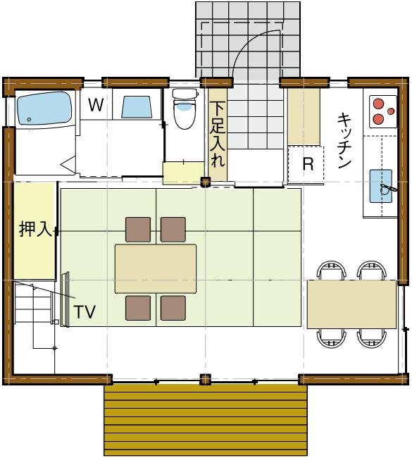 リフィル案02平面図