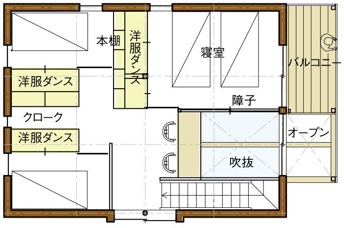 2Fリフィル案01平面図