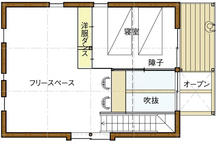 2Fリフィル案03平面図