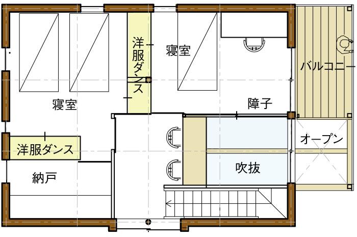 2Fリフィル案04平面図
