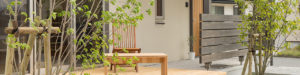 しまねの木の家_ウッドデッキの造作家具