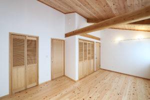The 木の家 居室