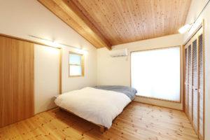 天白区の家寝室