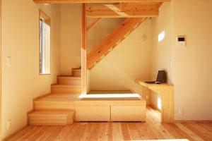 木楽舎びおハウスH_階段まわり